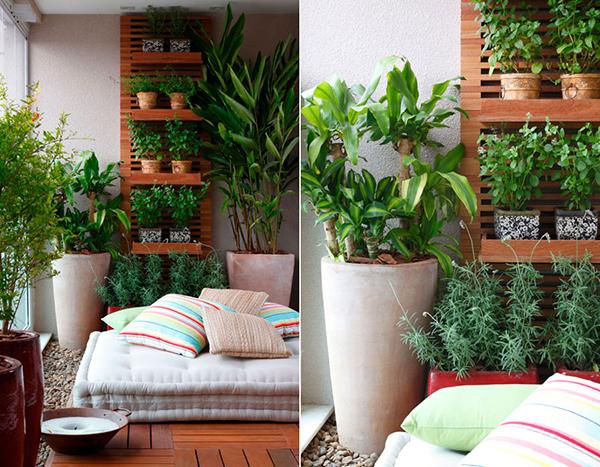 Ideias para varandas de todos os tamanhos - ervas aromáticas