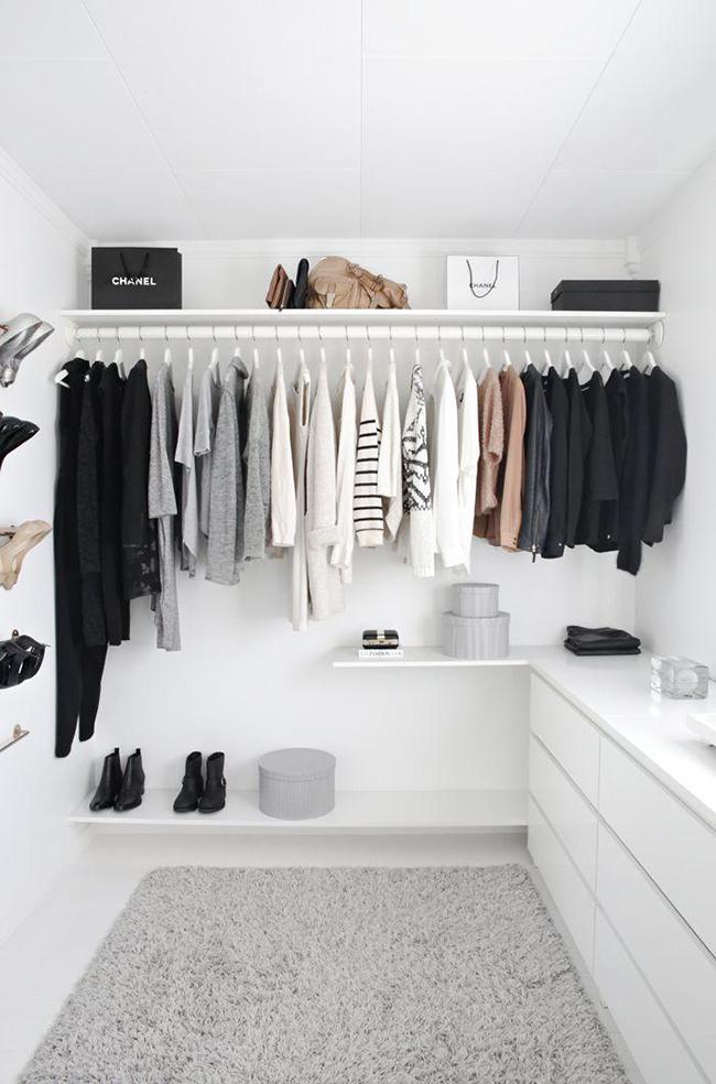 Closets de sonho para todas as carteiras - fundo branco