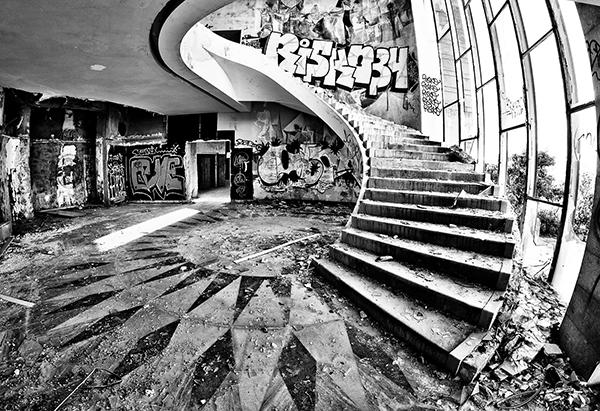 Restaurante Panorâmico, Monsanto, Lisboa - 10 Locais abandonados