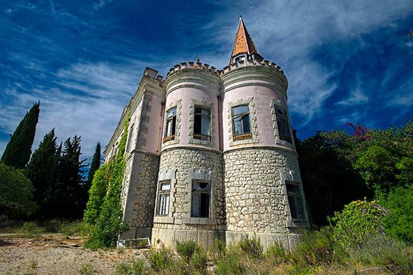 Palácio Fonte da Pipa, Loulé, Algarve - 10 Locais abandonados