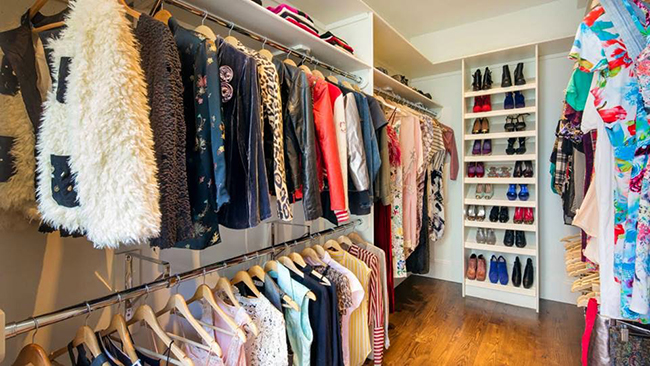 Closets de sonho para todas as carteiras - arrumação