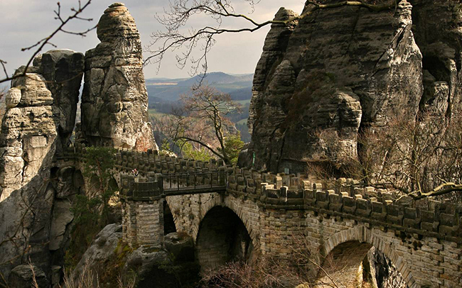 Ponte Bastei, Lohmen, Alemanha - As 15 pontes mais espectaculares do mundo