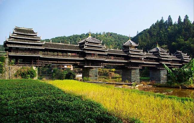 Ponte Chengyang, Guangxi, China - As 15 pontes mais espectaculares do mundo