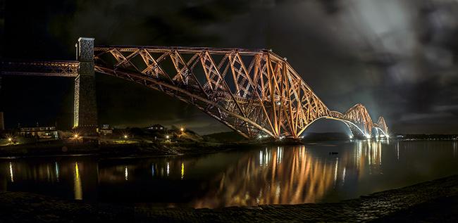 Ponte do Forth, Edimburgo, Escócia - As 15 pontes mais espectaculares do mundo