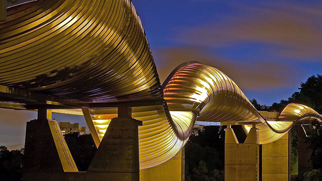 Ponte Henderson Waves, Bukit Mera, Singapura - As 15 pontes mais espectaculares do mundo