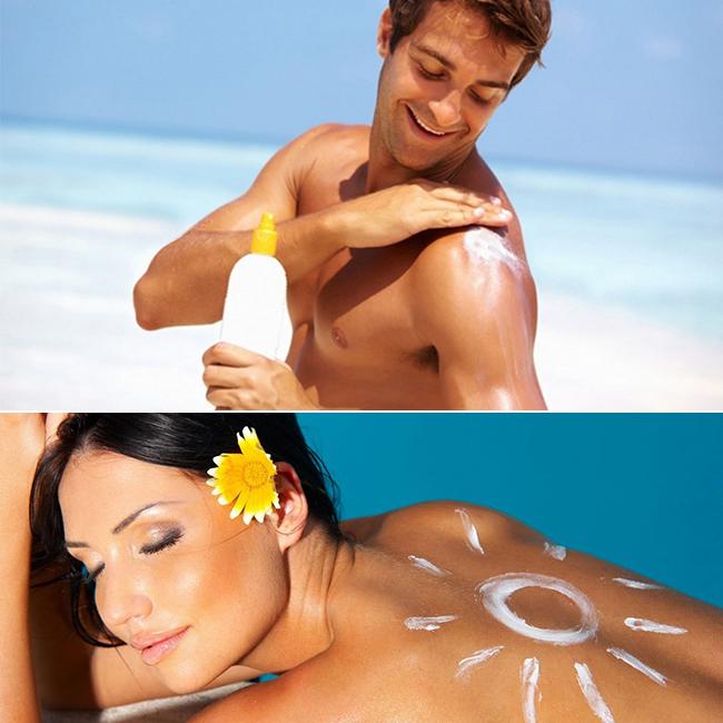 Saiba que cuidados deverá ter com a pele nos dias quentes - use protetor solar