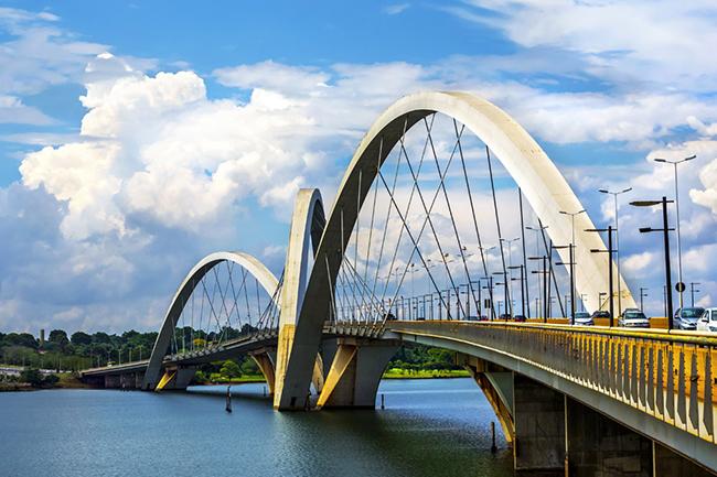 Ponte Juscelino Kubitschek, Brasília, Brasil