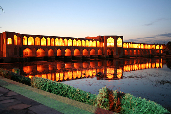 Ponte Khaju, Isfahan, Irão - As 15 pontes mais espectaculares do mundo