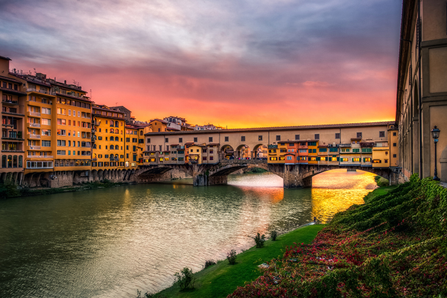 Ponte Vecchio, Florença, Itália - As 15 pontes mais espectaculares do mundo