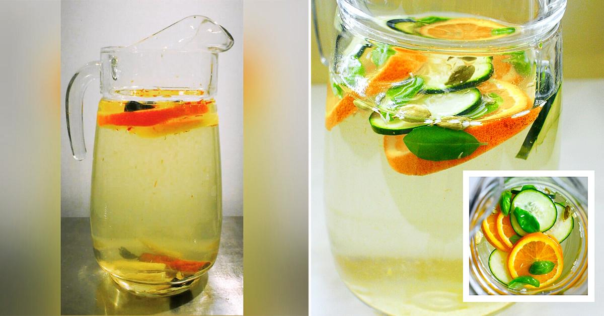 Água aromatizada – 5 receitas que vai querer experimentar