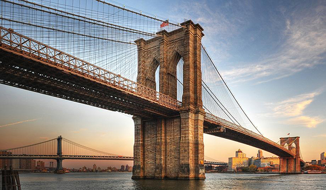 Ponte do Brooklyn, Nova Iorque, EUA - As 15 pontes mais espectaculares do mundo