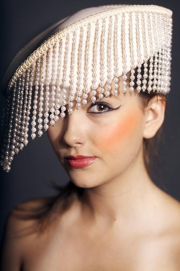 Missangas - chapéu