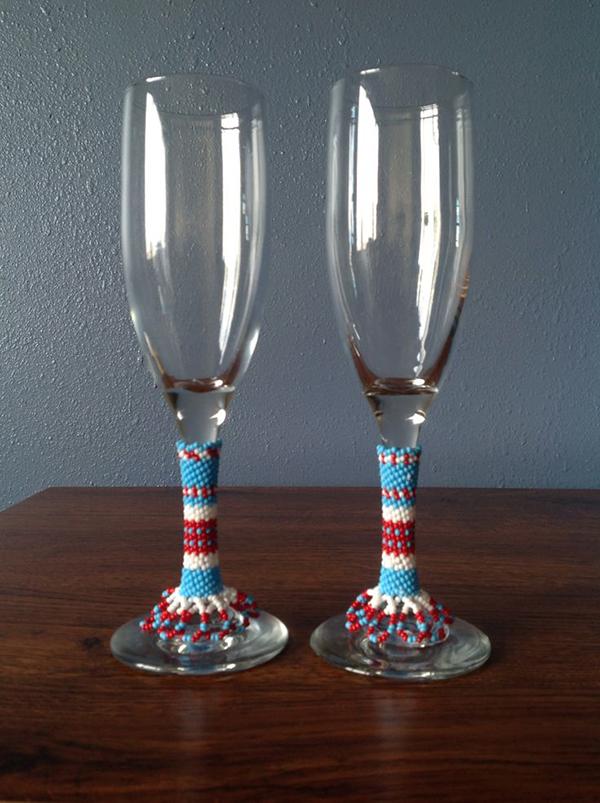 Missangas - copos