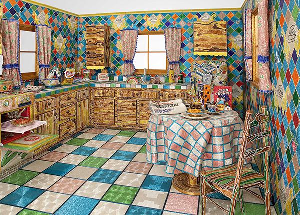 Missangas - cozinha