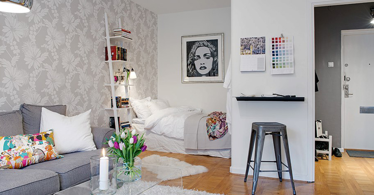 11 soluções geniais para estúdios e casas pequenas