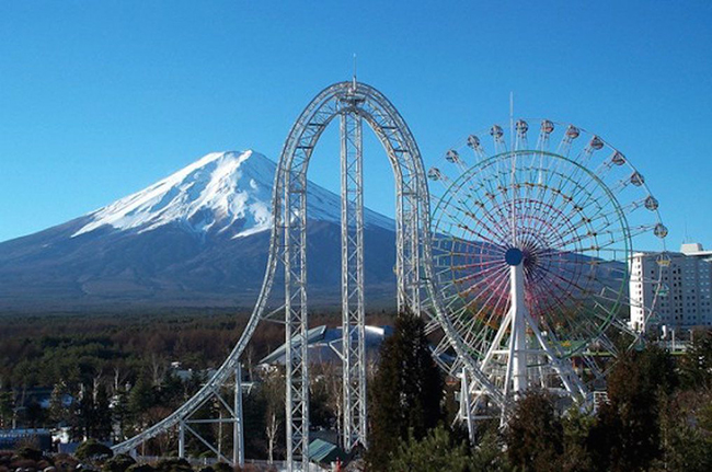 11 das montanhas russas mais impressionantes do mundo - Dodonpa, Yamanashi, Japão
