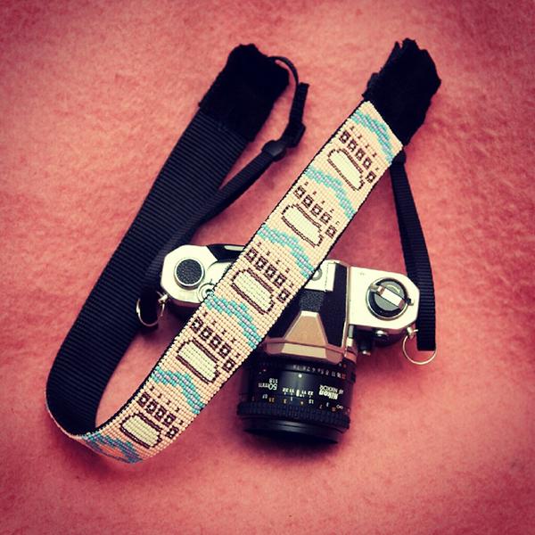 Missangas - fita para máquina fotográfica