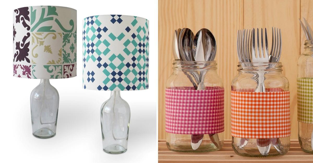 13 grandes ideias para reutilizar os vidros aí de casa!