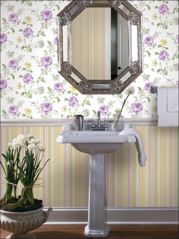 Papel de parede para casas de banho