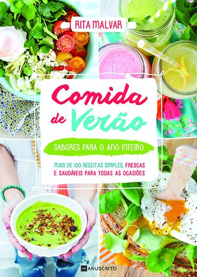 capa do livro Comida de Verão, de Rita Malvar