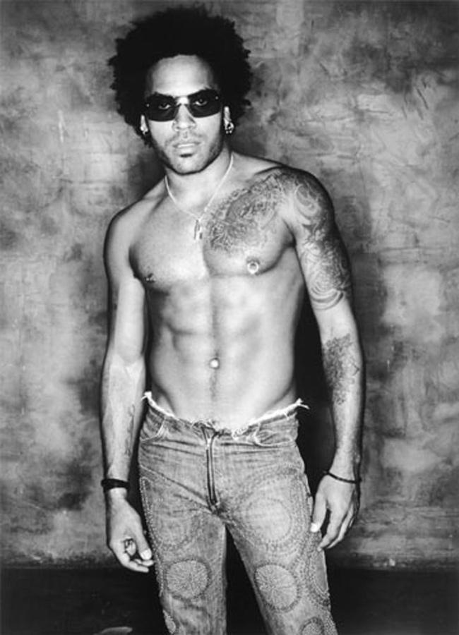 Tatuagens - Lenny Kravitz, músico