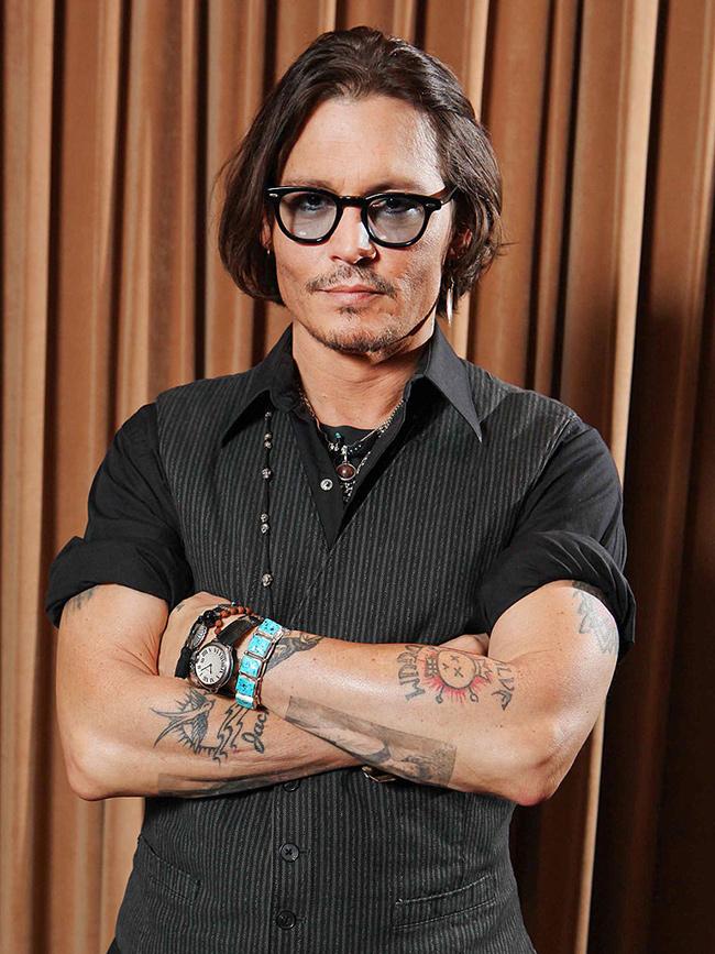 Tatuagens - Johnny Depp, actor