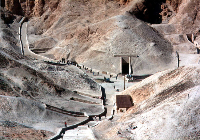 Túmulo de Tutancámon, Vale dos Reis, Egito - Lugares mais misteriosos do mundo