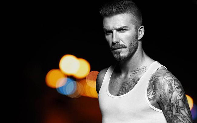 Tatuagens - David Beckham, ex futebolista
