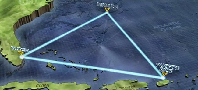 Triângulo das Bermudas, Oceano Atlântico - Lugares mais misteriosos do mundo