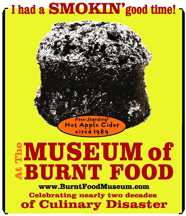 Museus mais esquisitos do mundo - Museu da Comida Queimada