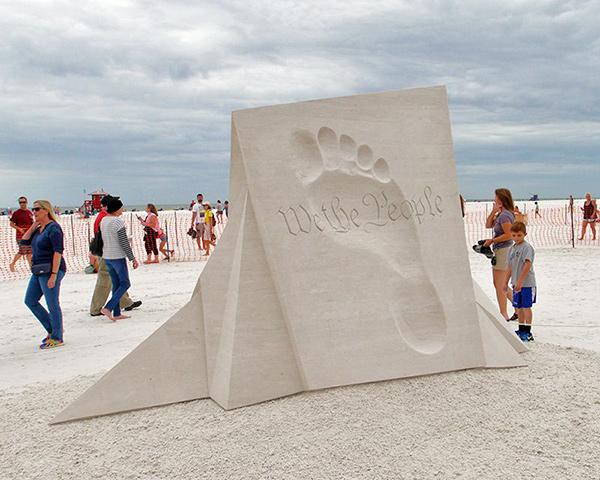 Esculturas de areia - Radovan Zivny