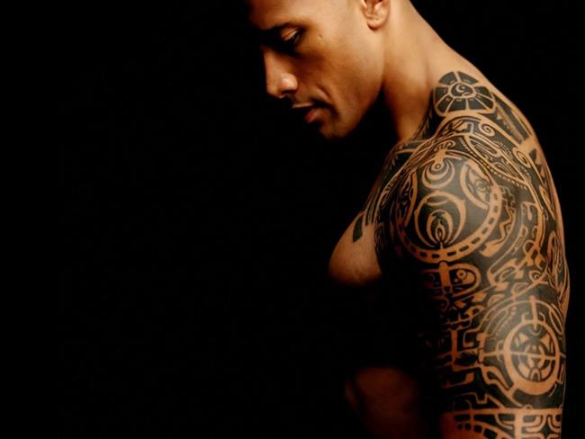 Tatuagens - Dwayne Johnson, actor