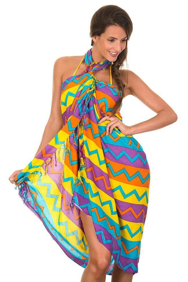 Pareos, as melhores dicas - usar como vestido de verão