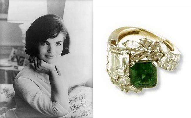 Anéis de noivado de sonho - Jacqueline Kennedy, ex Primeira dama dos EUA