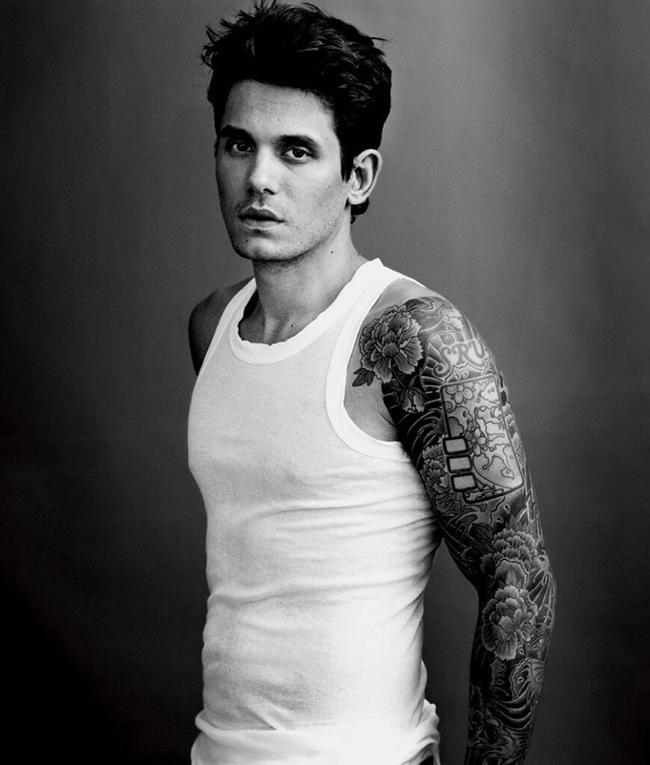 Tatuagens - John Mayer, músico