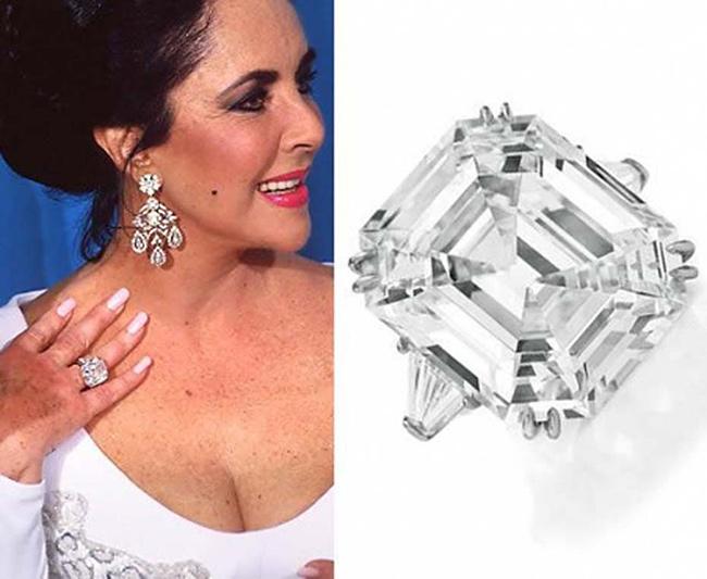Anéis de noivado de sonho -Elizabeth Taylor, actriz
