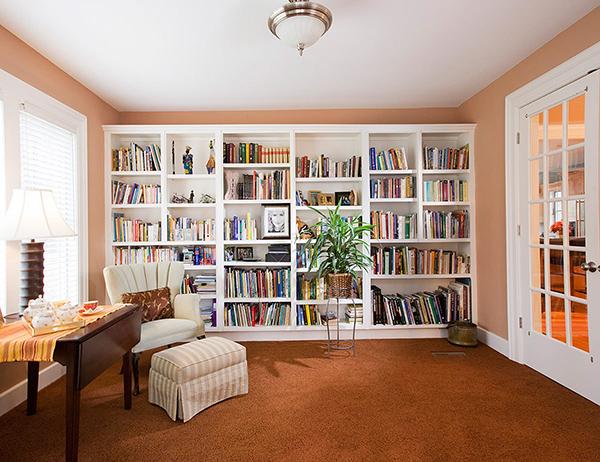 Tenha uma casa arrumada - Organize os seus livros
