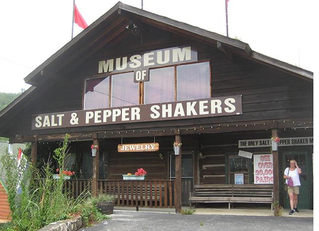 Museus mais esquisitos do mundo - Museu do Saleiro e Pimenteiro
