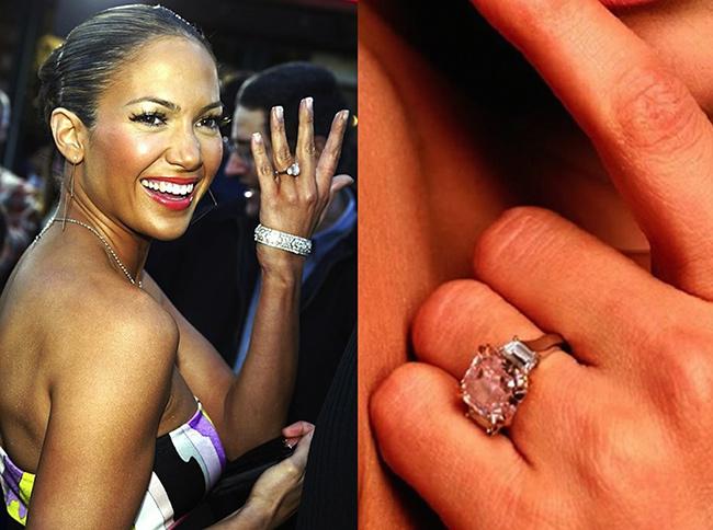 Anéis de noivado de sonho - Jennifer Lopez, cantora e actriz