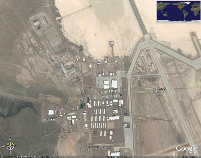 Área 51, Nevada, EUA - Lugares mais misteriosos do mundo