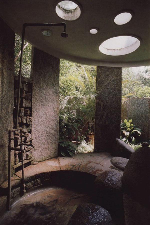 Duches de sonho - duche caverna