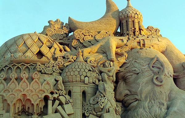 Esculturas de areia - Sandtastic