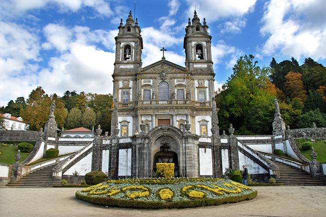 Lugares Santos em Portugal: Bom Jesus do Monte, Tenões, Braga