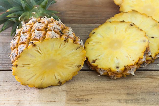 Frango com ananás - Pequenos-almoços para manter a barriga lisa