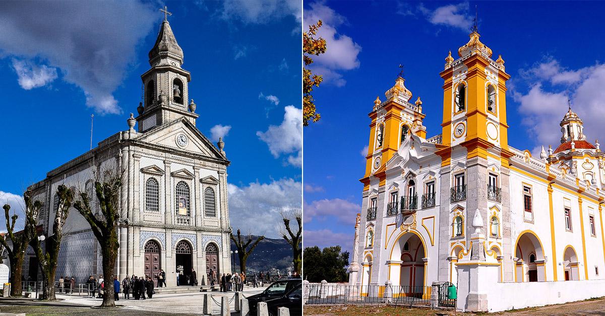 12 lugares Santos em Portugal