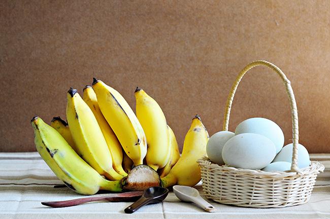 Omelete de banana - Pequenos-almoços para manter a barriga lisa