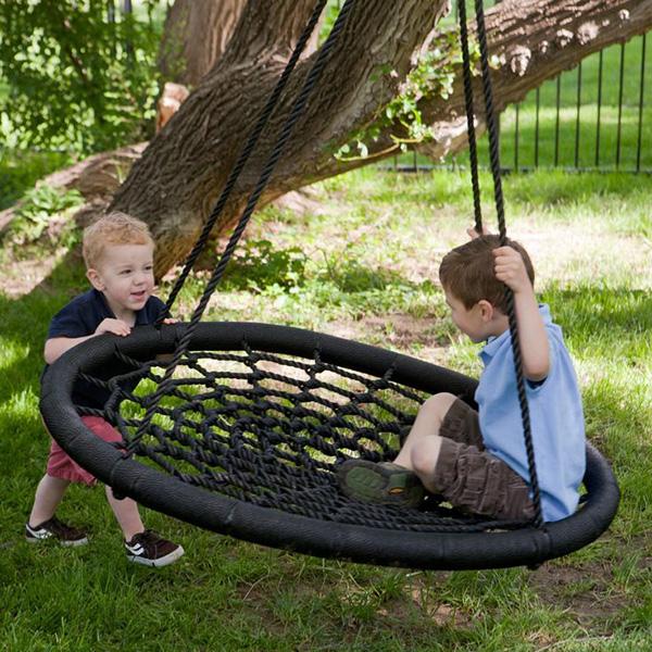 Baloiços e cadeiras - baloiço em forma de teia de aranha