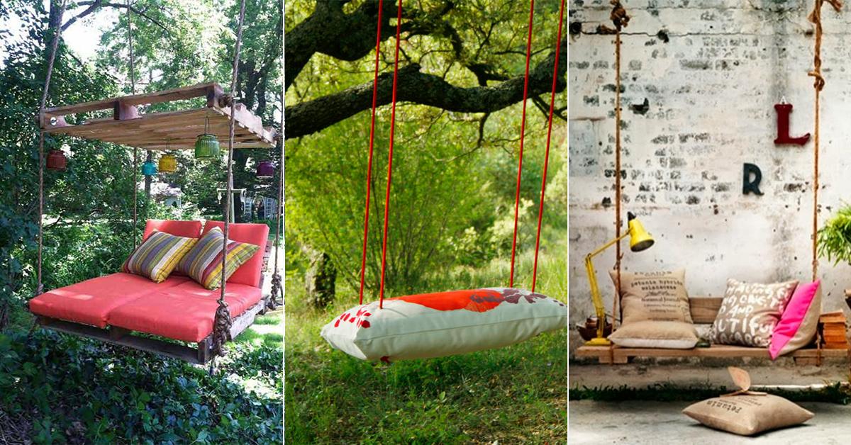 11 baloiços e cadeiras de sonho