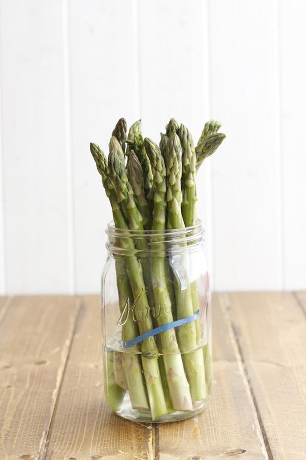 Conservar legumes e vegetais, espargos