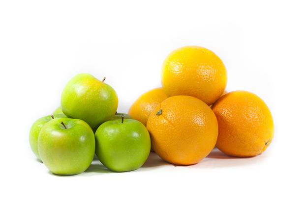Conservar legumes e vegetais, laranjas e maçãs